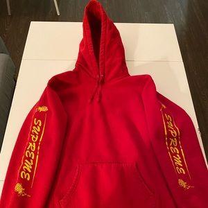Supreme cotton hoodie